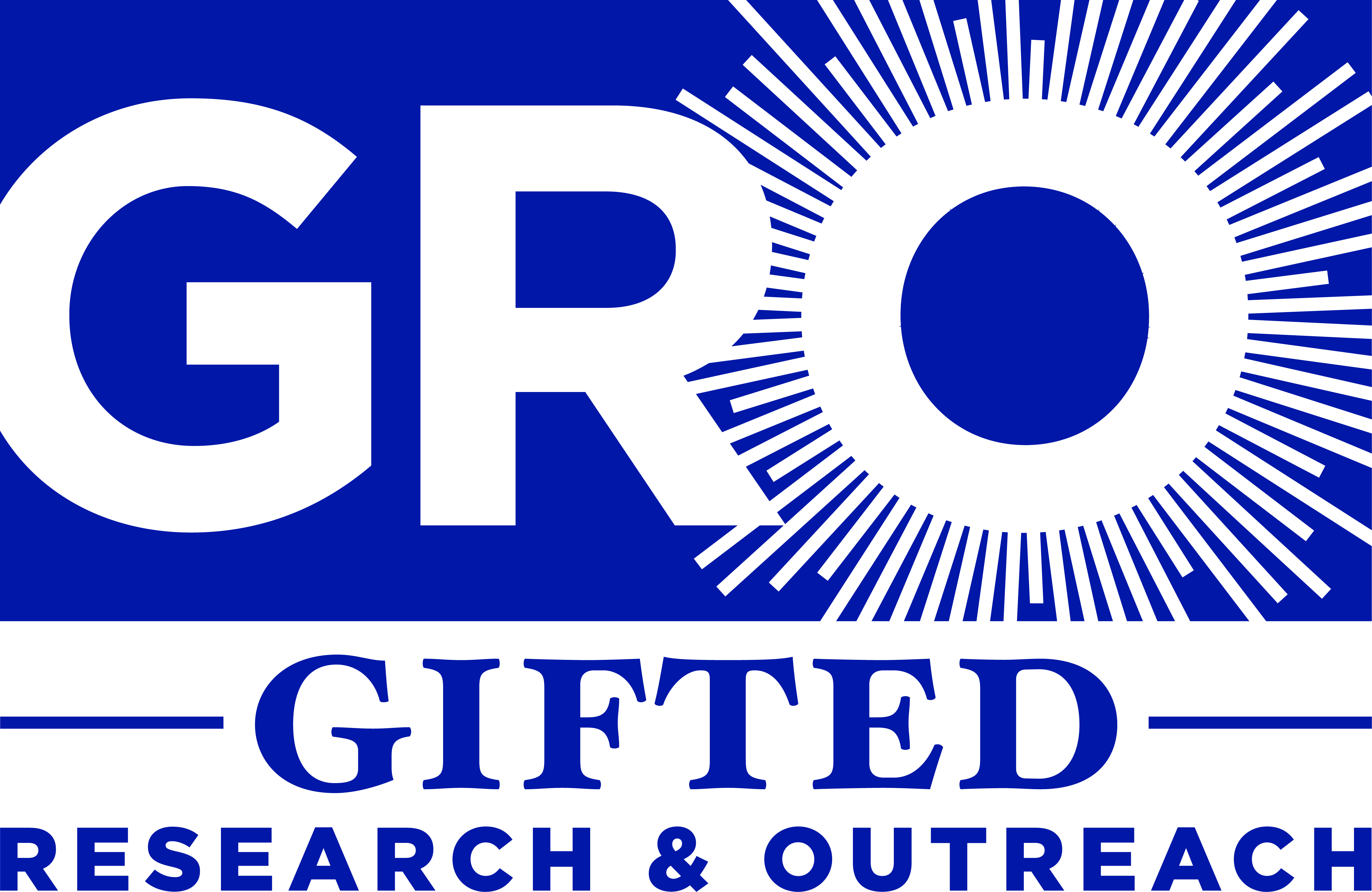 Gifted Research and Outreach (GRO) is a non-profit corporation whose mission is to promote a comprehensive and accurate understanding of giftedness through ...